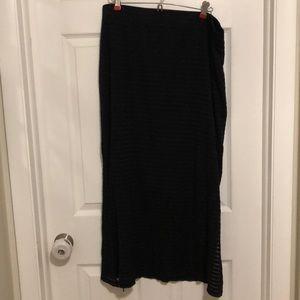 Apt 9 black long skirt